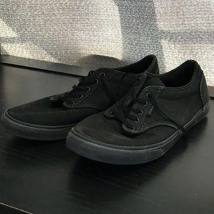 Vans All Black Size 8 Women's Shoes